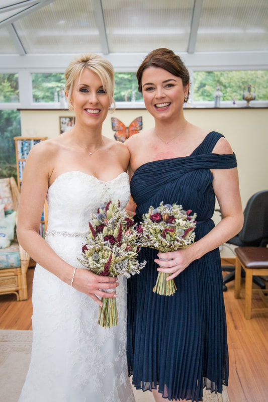bride bridesmaid nailsea