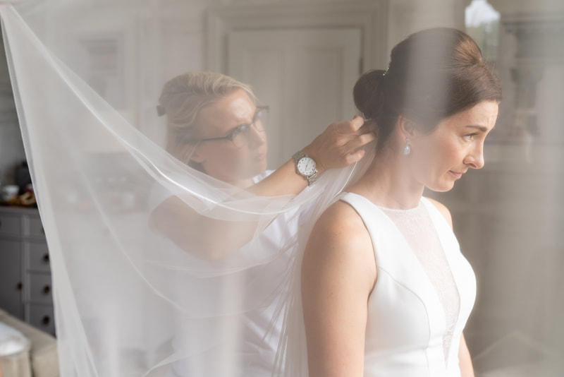 hair styling Bristol bride